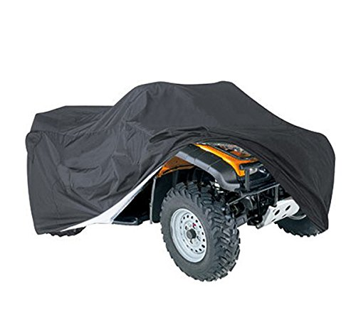 (Waterproof ATV Cover, Heavy Duty Durable Universal Waterproof Wind-Proof Protector Shield for Most Quads HZC29)