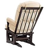 Dutailier Modern 0345 Glider Chair with Ottoman