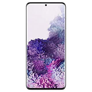"Samsung Galaxy S20 Plus SM-G985F/LO, 6.7"", 64MP Quad Camera with 8K Video Recording, 8GB RAM + 128GB Internal Storage - Cosmic Black"