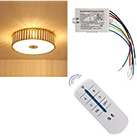 LIYUDL Wireless 4 Channel ON/OFF Lamp Remote Control Switch Receiver Transmitter Hot