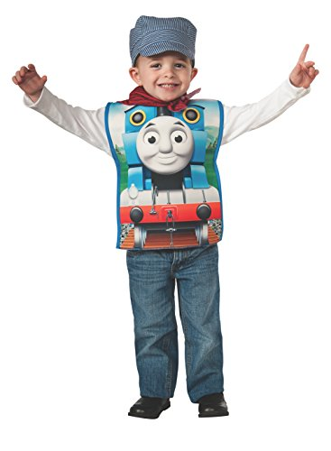 Rubies Thomas and Friends, Thomas The Tank Engine Costume, Toddler Blue ()