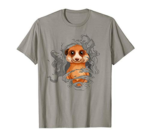 Meerkat Shirt, Funny Halloween Costume or Christmas Gift -
