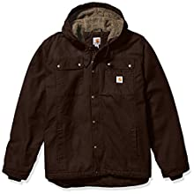 Carhartt Men's Big Bartlett Jacket (Regular and Big & Tall Sizes), Dark Brown, X-Large/Tall