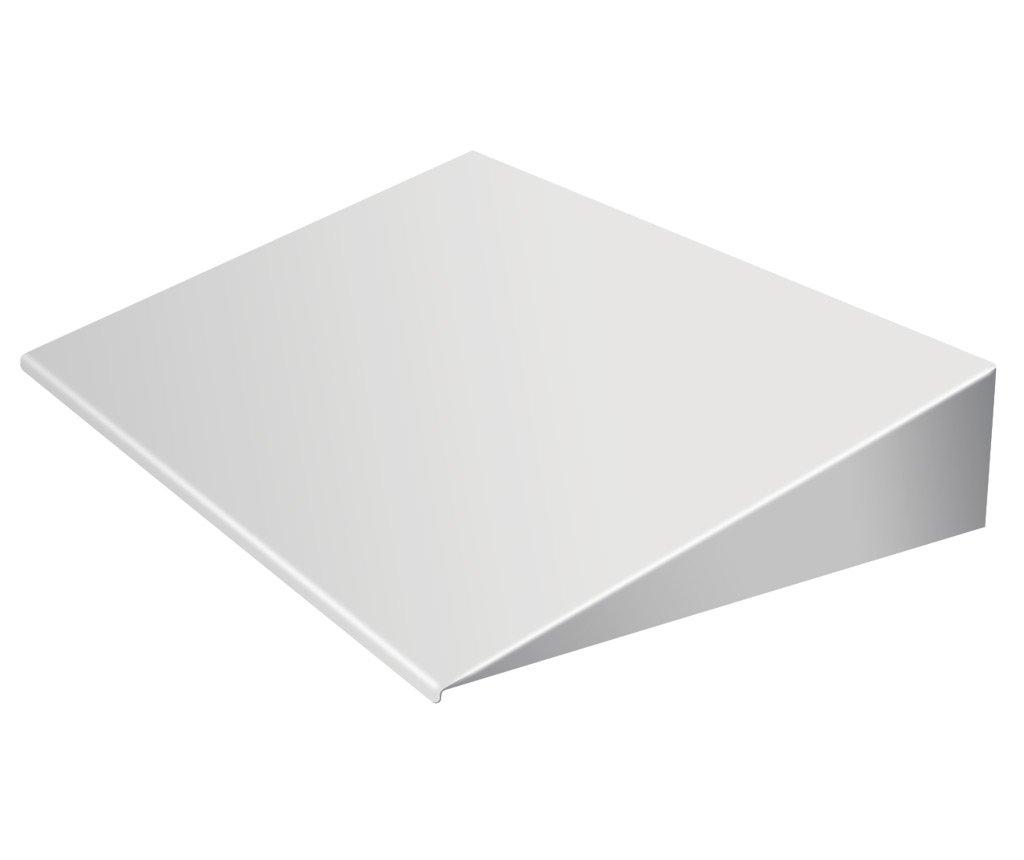 PlexiDor Performance Pet Doors Universal Pet Door Awning, White