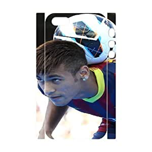 iphone5 5S 3D Cell Phone Case White Neymar Plastic Durable Cover Cases derf6994994