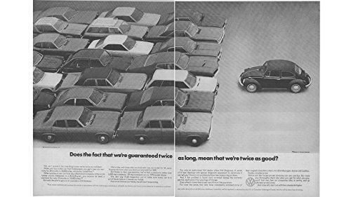 Magazine Print Ad 1971 Volkswagen VW Bug,