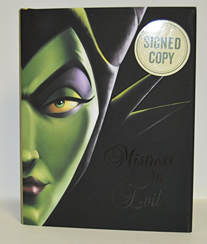 SERENA VALENTINO signed Mistress of All Evil: A Tale of the Dark Fairy (Villains) HARDCOVER Book FIRST EDITION -