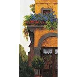 Verona Balcony I Poster Print by Montserrat Masdeu (10 x 20)