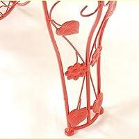 Amazon.com: Estantería de hierro con soporte de flores ...