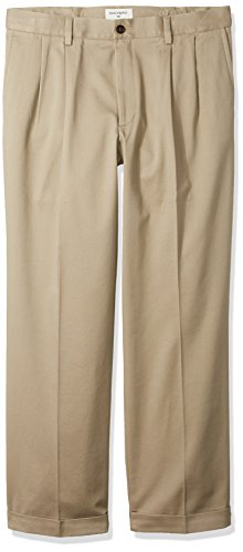 Dockers Mens Relaxed Fit Easy Comfort Pants D4-Pleated