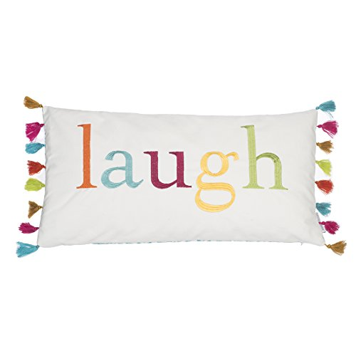 Kelsey Laugh Tassels pillow