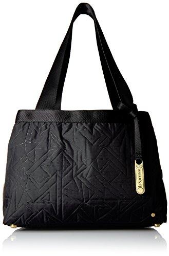 Lesportsac Mercer Tote - Linear Maze Black - One Size