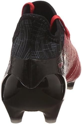 adidas X 16.1 FG, Botas de Fútbol para Hombre, Rojo (Rosso Rojo/ftwbla/negbas), 46 EU