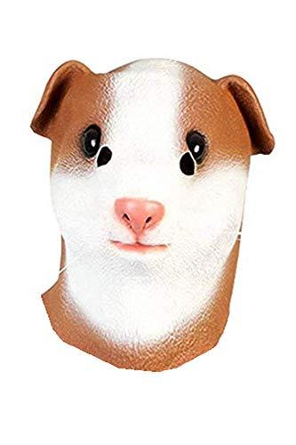 HAOCOS Halloween Adult Animal Full Face Latex Masks Cosplay Props