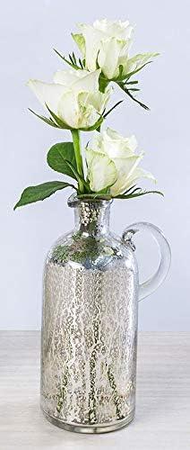 Penguin Silver Rose Mercury Glass Table