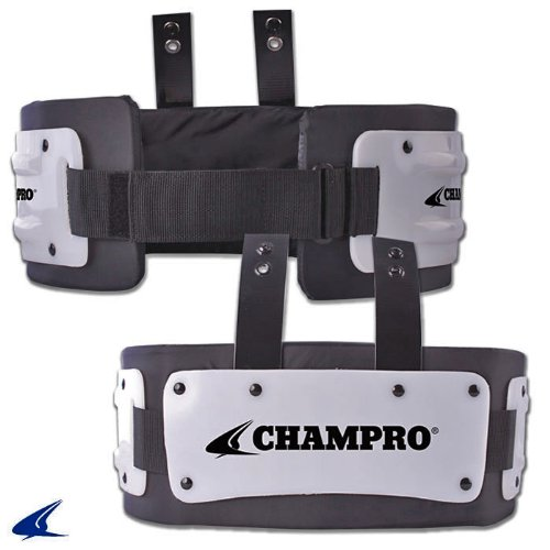 Champro Adult Large Rib Protector, Black - Fits Players Approximately 160 lbs. and Up