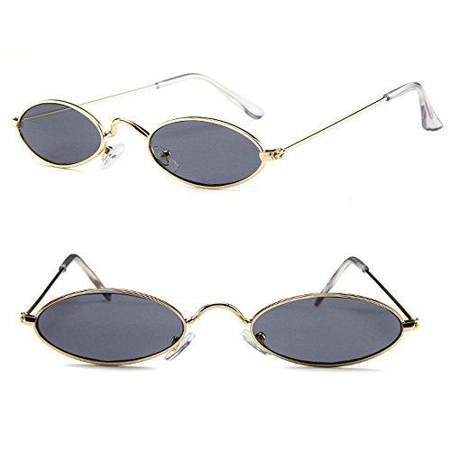 Grey Frame Lunette Femme Lens soleil Gold Lens Aolvo Gold Frame de Grey XHwRwq