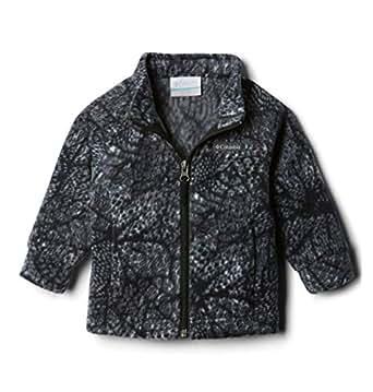 Columbia Toddler Girl's Benton Springs II Printed Fleece Outerwear Black Flowers 2T
