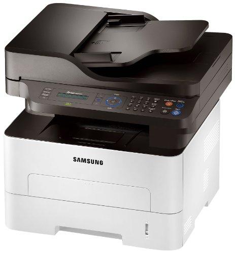 Samsung Xpress M2675FN/XEC Monolaser-Multifunktionsgerät (Drucken, Scannen, Kopieren, Faxen, 4.800 x 600 dpi, 128 MB Speicher, 600 MHz Prozessor)