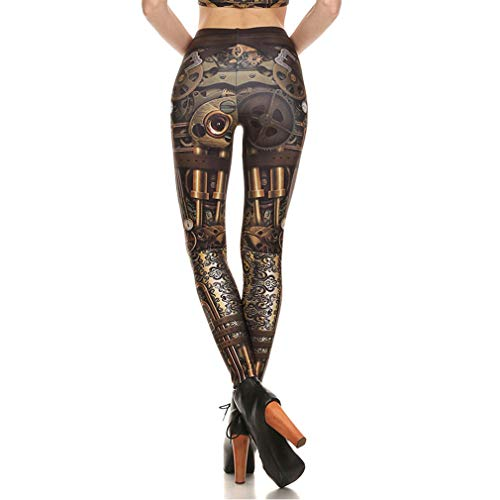 Haute Fitness S Hibote Push Impression Up Taille Femmes Confortable Long Stretchy Skinny 5 xl Doux Leggings Treggings Pantalon 446Ew