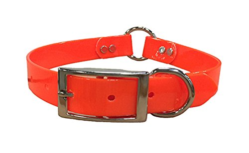 Mendota Products Dog Safety Collar, Orange, 1 x 20-Inch