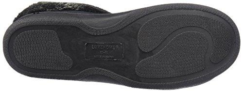 Luxehome Heren Comfortabel Pluisjes Huis Schoenen / Pantoffel (1-06) Grijs