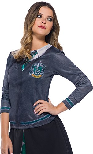 Rubie's Adult Harry Potter Costume Top, Slytherin, Small ()