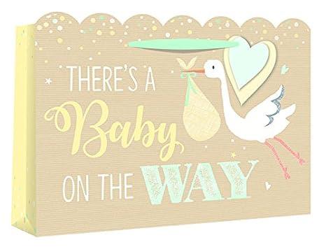 Eurowrap - Bolsa de ducha para bebé y tarjeta de regalo ...