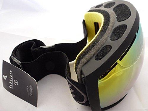 Electric Eg2 Snowboard Goggles (Eclipse (Matte Black) Electric Eg2 Eclipse Gold Mirror Ski Snowboard Goggles)