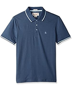 Men's Short Sleeve Polo with Tipping,