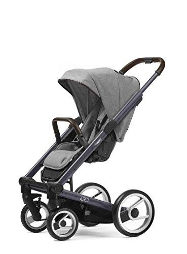 Mutsy Igo Farmer Edition Stroller, Dark Grey Chasiss|Farmer Mist