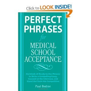 Perfect Phrases for Medical School Acceptance byBodine PDF