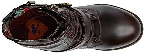 Rocket DogHUDSON - botas de motorista sin forro Mujer Marrón - Braun (BURGUNDY NDU)