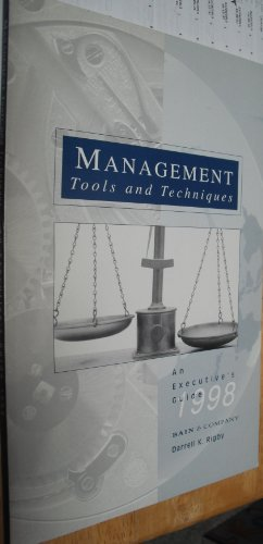 Management Tools and Techniques : An Executive's Guide, 1998