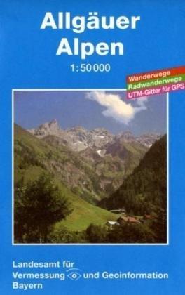 Topographische Sonderkarten Bayern: Allgäuer Alpen