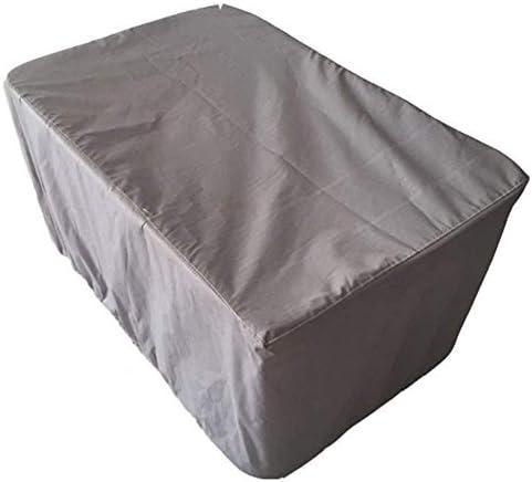 防水カバーガー ガーデン家具カバー ガーデンテーブルカバー ヘビーデューティ オックスフォード 防水 保護する パティオセットカバー 、グレー シバオ (Size : 170×94×70cm)