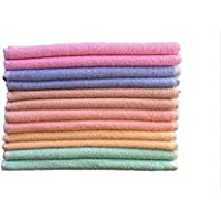 B.H Multicolor Cotton Napkin or Hand Towel (Size 12x18inch)