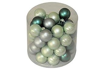 Farbe Salbei xs weihnachtskugeln aus glas durchmesser 3cm 45 stück farbe