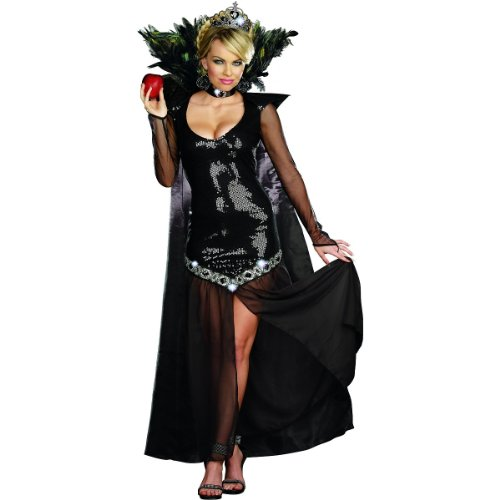 Feather Cape Costume (The Queen of Mean Adult Costume - Large)