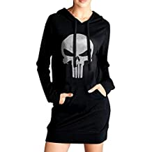 The Punisher's Skull Flag Woman Sweatshirts Hoodies Pullover