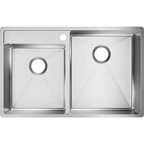 Elkay Crosstown 33'' x 21'' Double Basin Undermount Kitchen Sink