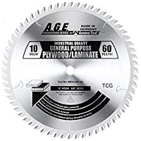 AGE MD10-401 Laminate 10X40t TCG 5/8 Bore by AGE