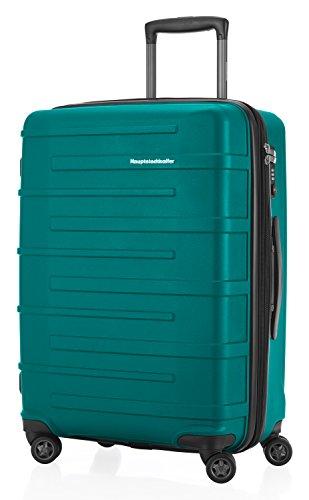 (HAUPTSTADTKOFFER - Ostkreuz - Luggage Suitcase Hardside Spinner Trolley Expandable 24¡° TSA, Pine Green)