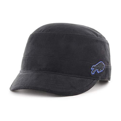 OTS NFL Buffalo Bills Female Shipmate Cadet Military-Style Adjustable Hat, Black, Women's
