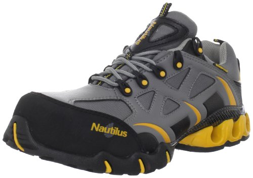 Nautilus 1800 Comp Toe Waterproof EH Athletic Shoe,Grey,10.5 W-XW US
