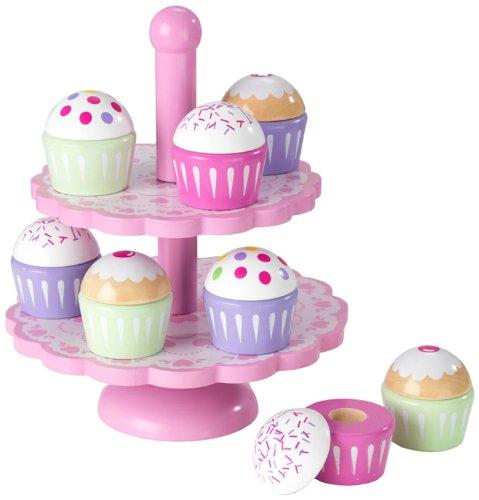 Kidkraft Cupcake Stand - KidKraft Cupcake Stand Set