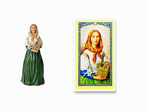 blessed-by-pope-francis-st-saint-dymphna-about-4-inches-patron-saint-of-mental-health