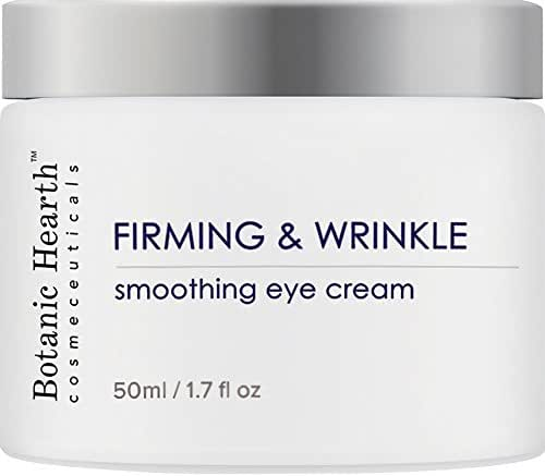 Botanic Hearth Firming & Wrinkle Eye Cream, Anti Aging Moisturizer for Face & Neck, For Bright and Even Skin Tone, 1.7 fl oz