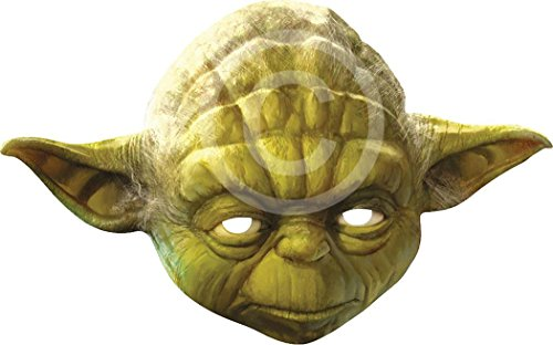 Adult Yoda Mask - Yoda Card Face Mask