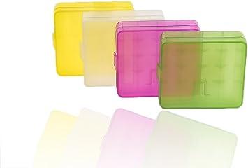 4 x Batería Caja batería Box – Caja para Mignon AA o para Micro ...